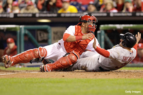 NLDS Game 2: Cardinals catch Cliff Lee for a series-tying win