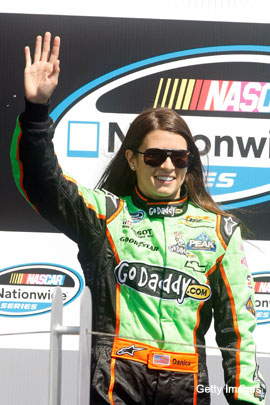 Danica Patrick jumps to NASCAR, will run Sprint events in 2012