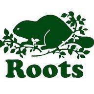 roots 短袖T恤 情侶T