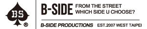 B-SIDE官方網路直營賣場
