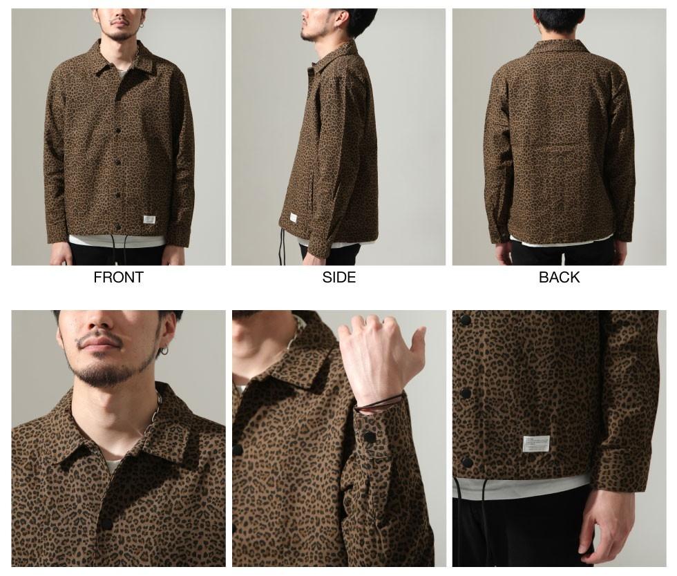 ZIP日本男裝 豹紋教練外套(2色)