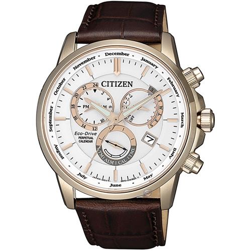 (無卡分期6期)CITIZEN星辰卓越非凡光動能手錶(BL8153-11A)