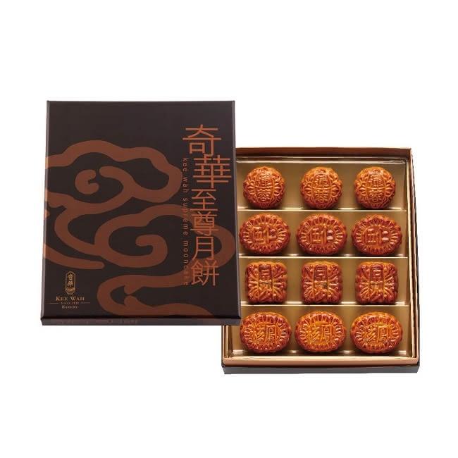 奇華 金裝迷你禮盒5盒組(12小廣/盒 錦盒 附提袋)