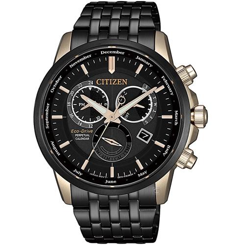 (無卡分期6期)CITIZEN星辰卓越非凡光動能手錶(BL8156-80E)