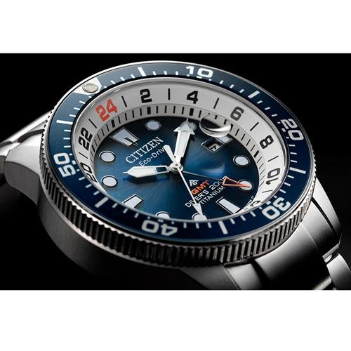 (無卡分期6期)CITIZEN星辰PROMASTER百搭潮流光動能手錶(BJ7111-86L)