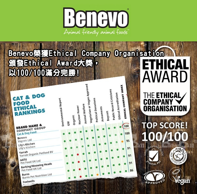 Benevo 倍樂福 英國素食認證低敏成貓飼料2kg X 2包入