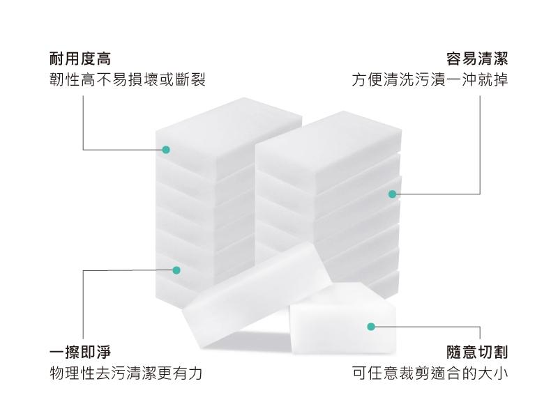 Ahoye 奈米科技海棉 10x6cm 20入