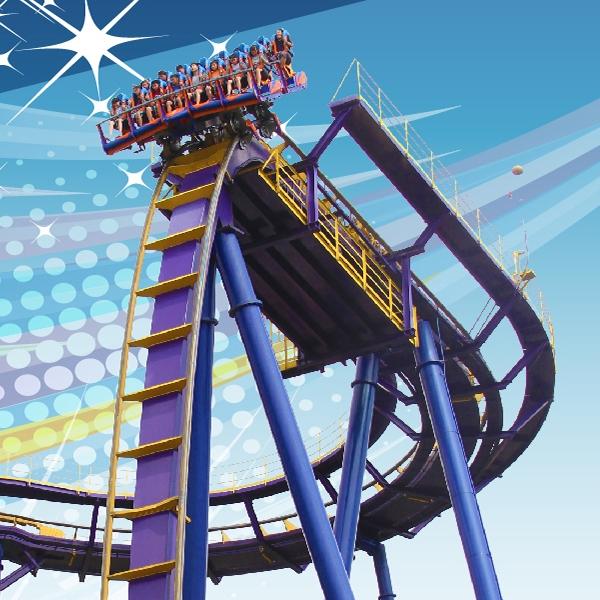劍湖山世界主題樂園入園門票入場券(4張)