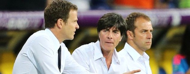 Bierhoff, Flick, Löw (Getty Images)