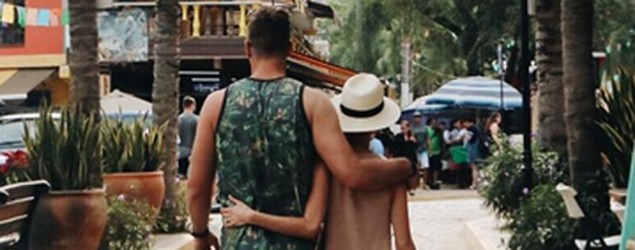 Jay Cutler and Kristin Cavallari. (via Instagram)