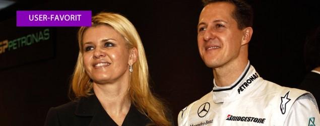 Corinna und Michael Schumacher (Getty Images)