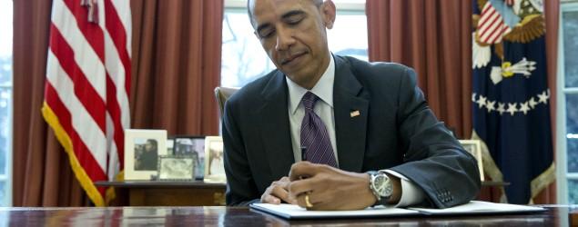 Here's how Barack Obama's signature looks like