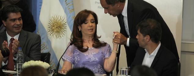 """Cristina, polémica: """"Los muertos no pagan las deudas""""/ DyN"""