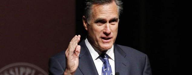 Mitt Romney won't make White House bid in 2016. (AP)