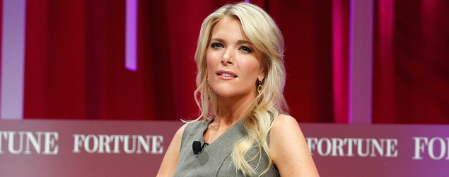 "Megyn Kelly discusses ""bizarre"" Trump controversy. (Getty Images)"