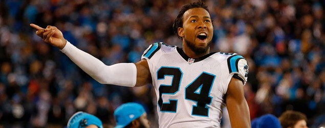 Carolina defensive back Josh Norman. (Getty Images)