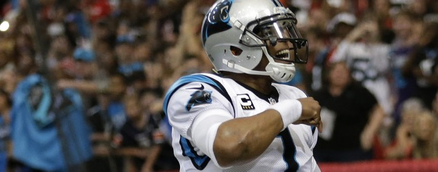 Cam continues rapid ascent, named NFL MVP. (AP)