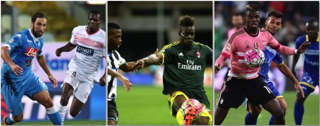 Napoli Juventus Milan (Getty)