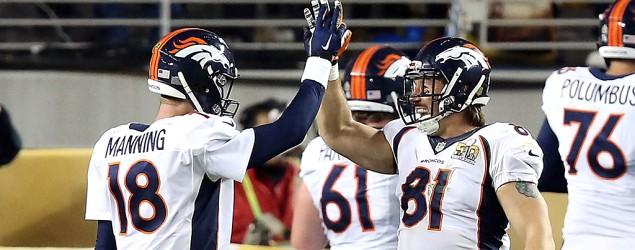 Denver Broncos win Super Bowl 50. (Getty Images)