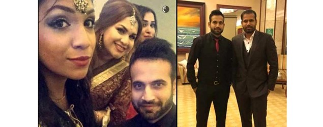 Irfan Pathan marries model who is ten years younger to him