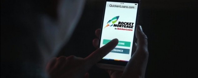 Quicken Loans advertised its Rocket Mortgage lending service in an ad that ran during the Super Bowl. (Quicken Loans)