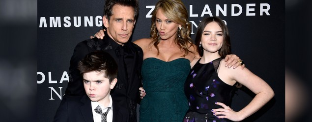 Ben Stiller's son steals the spotlight. (Getty Images)