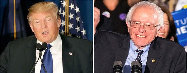 Big victories for Trump, Sanders in N.H. (AP)