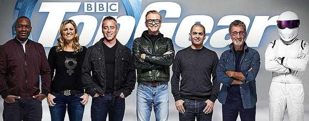 The Top Gear team (BBC)