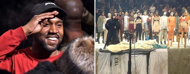 Kanye West and models (Rex)