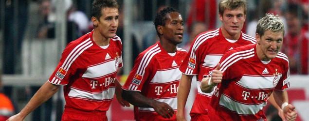 Klose, Ze Roberto, Kroos, Schweini (Getty Images)