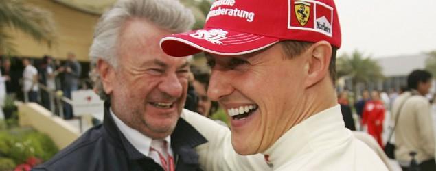 Schumi und Willi Weber (Getty Images)