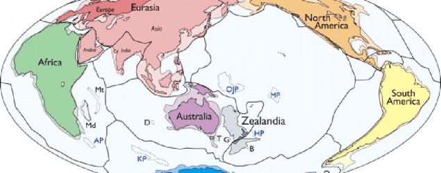 """Mortimer et al, """"Zealandia: Earth's Hidden Continent"""", GSA Today, 2017, doi: 10.1130/GSATG321A.1"""
