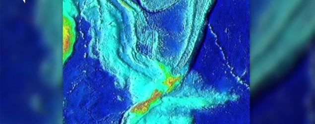 A computer image of Zealandia. (Screen grab courtesy Newsy)