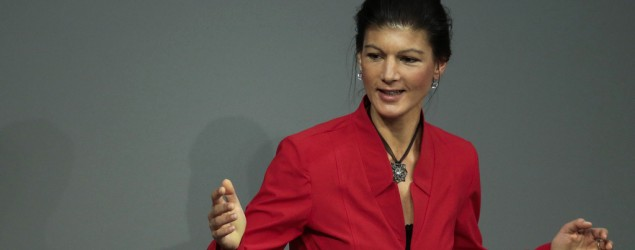 Sahra Wagenknecht (AP Images)