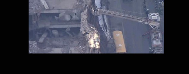 Building partially collapses in Manhattan: Police (Twitter)