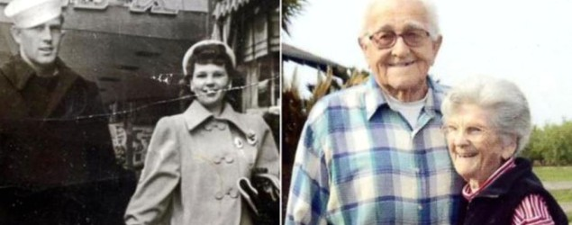 A real life 'Notebook' couple who were married for 67 years have died hand in hand at a hospice in the US. Photo: ABC News