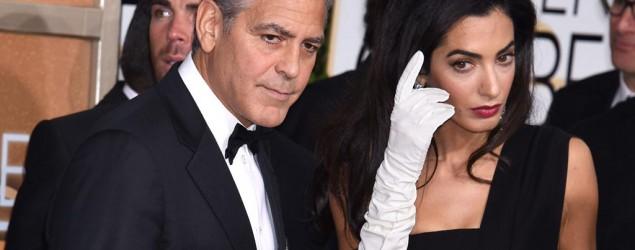 George Clooney e Amal Alamuddin (Kikapress)