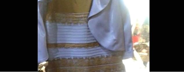 究竟呢條裙係咩色?