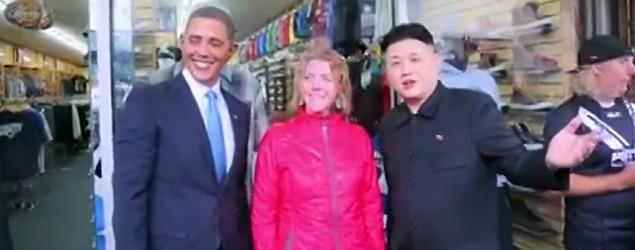 Obama & Kim Jong Un (Screenshot)