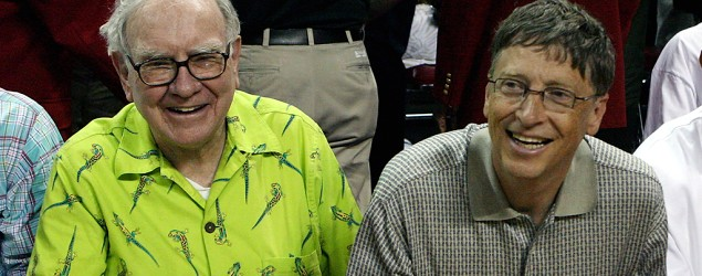 Warren Buffett, left, and Bill Gates (Getty Images)