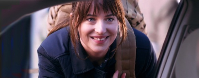 "Dakota Johnson in a ""Saturday Night Live"" skit spoofing ISIS (NBC)"