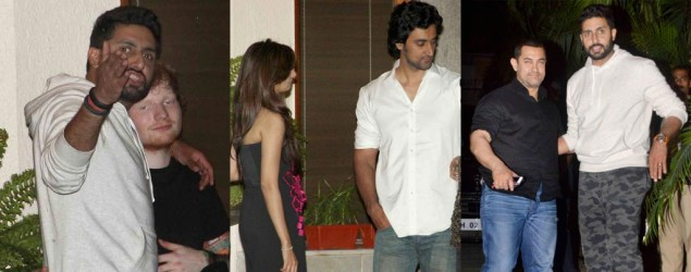 Candid shots: Bachchans throw a grand party for Kunal Kapoor