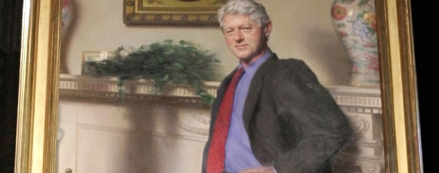 President Bill Clinton's official White House portrait (Haraz N. Ghanbari/AP)