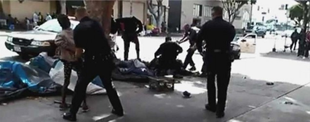 Deadly L.A. police shooting caught on video (KABC)