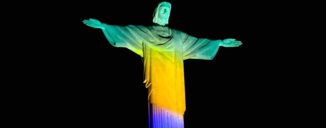 Foto: Cristo Redentor - Olimpíada de 2016 (AFP)