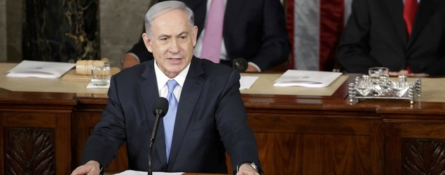 Netanyahu's plea to Congress on Iran nuke deal. (AP)