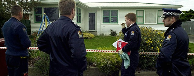 Number 30 Karamea Cres Palmerston North, where Christine Lundy and daughter Amber were found dead. Photo: SNPA