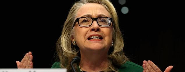 Former U.S. Secretary of State Hillary Clinton (Getty Images)
