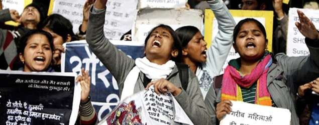 Indian rape protest (Supplied)
