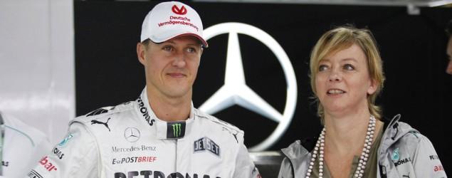 Sabine Kehm Michael Schumacher Bild: SID